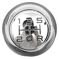 5 Speed Chrome MT Gear Shift Knob for Peugeot 106 206 207 306 307 407 408 508