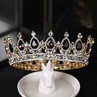 Alloy Tiaras with Rhinestone 1 Piece Special Occasion Headpiece
