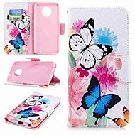 Case For Motorola MOTO G6 / Moto G6 Plus / Moto G5s Plus Wallet / Card Holder / with Stand Full Body Cases Butterfly Hard PU Leather / Moto G5 Plus / Moto G4 Plus