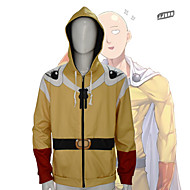 One-Punch Man Cosplay Hoodie Poly / Cotton 3D For Men's / Women's