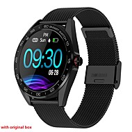 K7 Smart Watch BT Fitness Tracker Support Notify/ Heart Rate Monitor Sport Stainless Steel Bluetooth Smartwatch Compatible IOS/Android Phones