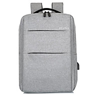 Large Capacity Oxford Zipper School Bag Solid Color Daily Black / Red / Light Grey / Fall & Winter