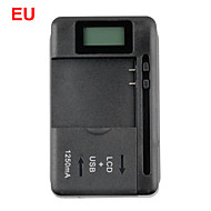 Universal Battery Charger with LCD Indicator Screen for Cell Phones 1 USB-Port