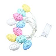 Colorful Eggs Shape String Lights for Easter Decoration