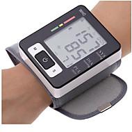 المنزل ذكي الإلكترونية المعصم مراقبة ضغط الدم التلقائي المنزل مع / بدون صوت متر مقياس ضغط الدم متر التوتر