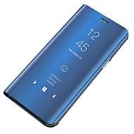 غطاء من أجل Samsung Galaxy S6 ضد الغبار / مرآة / قلب غطاء كامل للجسم لون سادة قاسي الكمبيوتر الشخصي