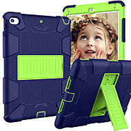 cheap -Case For Apple iPad Mini 5 / iPad Mini 4 with Stand / Child Safe Case Back Cover Armor Silica Gel