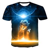 Men's Daily T-shirt - 3D Rainbow