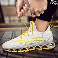ราคาถูก -สำหรับผู้หญิง รองเท้ากีฬา ส้นแบน ถัก Sporty / ไม่เป็นทางการ สำหรับวิ่ง ฤดูใบไม้ผลิ & ฤดูใบไม้ร่วง / ฤดูร้อน สีดำ / สีแดง / ขาวและเหลือง / ขาว