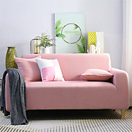 Sofa Cover Romantic Yarn Dyed Polyester / Cotton Blend Slipcovers
