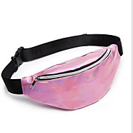 Women's Zipper PU(Polyurethane) / PU Fanny Pack Black / Purple / Blushing Pink