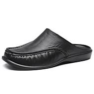 ราคาถูก -สำหรับผู้ชาย รองเท้าขับขี่ ไม่เป็นทางการ ทุกวัน รองเท้าแตะและรองเท้าแตะ วสำหรับเดิน EVA ระบายอากาศ น้ำตาลเข้ม / สีดำ / สีเทา / Square Toe