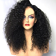 Synthetic Wig Afro Curly Layered Haircut Wig Medium Length Natural Black Synthetic Hair 42~46 inch Women's New Arrival Black