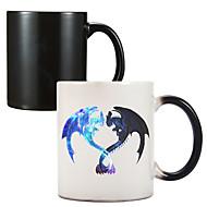 Color Change Heat Reactive Ceramic Cup