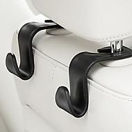 Carro pequeno receber saco gancho criativo multi-função acessórios automotivos 2 pcs