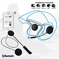 LITBest BT8 Motorcycle Hat Telephone & Driving Headset Wireless Mobile Phone Bluetooth 4.0 with Volume Control