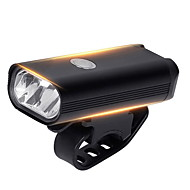 LED Bike Light Front Bike Light Bicycle Cycling Waterproof Super Brightest Wide Angle 400 lm Rechargeable USB White Cycling / Bike / IPX 6