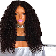 Synthetic Wig Afro Curly Layered Haircut Wig Medium Length Black / Gold Synthetic Hair 52~56 inch Women's Synthetic Black