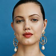 Pentru femei Cercei Picătură Cercei Dangle Clasic Retro Prețios Clasic Vintage Elegant Perle cercei Bijuterii Auriu Pentru Petrecere Zilnic Stradă Muncă 1 Pair