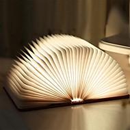 billige -Bok Table Night Lamp Oppladbar / Foldbar / Magnetisk Innebygd Li-batteridrevet 1pc