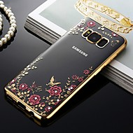 cheap -Case For Samsung Galaxy S9 / S9 Plus / S8 Plus Shockproof / Dustproof / Pattern Back Cover Flower Soft TPU