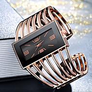 Mujer damas Reloj Pulsera Relojes de Oro Cuarzo Plata / Dorado / Oro Rosa Reloj Casual Cool Esfera Grande Analógico Moda Elegante - Oro + negro Oro Rosa Negro / Oro Rosa Un año Vida de la Batería