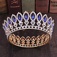 Alloy Tiaras with Rhinestone 1 Piece Wedding / Special Occasion Headpiece
