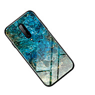 Case for Oneplus 7 Oneplus 7 pro Mirror Full Body Cases Color Gradient TPU Tempered Glass