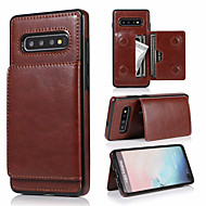 Retro PU Leather Case For Samsung Galaxy S10 Plus S10e S10 S9 Plus S9 S8 Plus S8 Multi Card Holders Phone Cases For Galaxy Note 10 Plus Note 10 Note 9 Note 8 with Stand Magnetic Wallet Cover