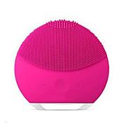 رخيصةأون -الكهربائية فرشاة التطهير الوجه مصغرة 2 الجلد مسام تنظيف الأوساخ تطهير المضادة للتجاعيد سيليكون فرشاة أدوات الوجه
