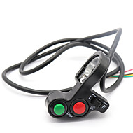 3 in 1 Motorrad Hupe Blinker Lichtschalter für 22mm Lenker Dirt Bike Roller