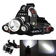 povoljno -Boruit® RJ-3000 Svjetiljke za glavu Svjetlo za bicikle Može se puniti 3000/5000 lm LED LED 3 emiteri 4.0 rasvjeta mode s baterijama i punjačima Može se puniti štrajk oštrica Kampiranje / planinarenje