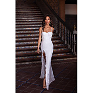 Women's Sheath Dress - Solid Colored Rainbow White S M L XL