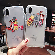 Case For Apple iPhone XS Max / iPhone X Soft silicone Shockproof Apple protective shell Cartoon TPU Pattern Pouch Bag Flower Soft Plastics for iPhone 6 / iPhone 6s Plus / iPhone 8