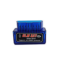 SUPER MINI ELM327 Bluetooth OBDII V2.1 ZENHOX Obd2 Bluetooth Torque OBDII Car Diagnostic Scanner OBD2 Code Reader Bluetooth Elm 327 Interface Check Engine Ligh Car Fault Detector Diagnostic Tool-blue