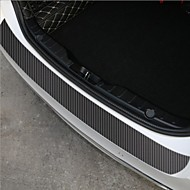 60x6.7cm Universal Car Stickers Door Sill Slipper Anti Scratch Carbon Fiber Auto Sticker Decals