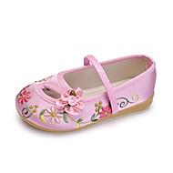 Mädchen Komfort Satin Flache Schuhe Kleinkind (9m-4ys) / Kleine Kinder (4-7 Jahre) Blume Rot / Blau / Rosa Sommer / TPR (Thermoplastisches Gummi)