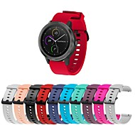 cheap -Watch Band for Vivoactive 3 Garmin Classic Buckle Silicone Wrist Strap