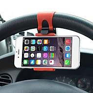 Soporte Universal de la correa de goma del montaje del Clip de la bicicleta del volante del coche para el iPhone para Samsung para el soporte del telfono mvil de Lenovo