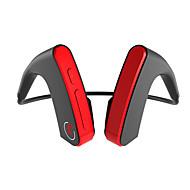 cheap -LITBest E1 Bluetooth Headphone Wireless Headset Bone Conduction Hook Earphone Sports earpiece With Mic for phone Music