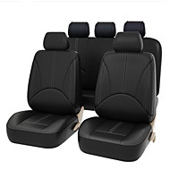 4PCS/Set 2 Frontseat Covers Advanced PU Leather Auto Universal Car Seat Covers  Auto Seat Protector Cushion Front Rear Cover Interior Accessories Vehicle Car Styling