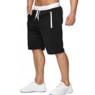 Men's Sporty Shorts Pants - Print Dark Gray Gray Purple US34 / UK34 / EU42 US36 / UK36 / EU44 US38 / UK38 / EU46
