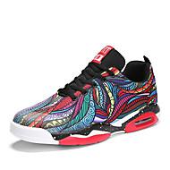 ราคาถูก -สำหรับผู้หญิง รองเท้ากีฬา ส้นแบน ปลายกลม ผ้าใบ Sporty / ไม่เป็นทางการ บาสเกตบอล ฤดูใบไม้ผลิ & ฤดูใบไม้ร่วง / ฤดูใบไม้ร่วง & ฤดูหนาว สีดำ / แดง