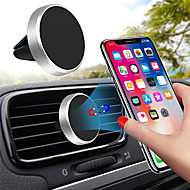 Universal Magnetic Mobile Phone Holder for iPhone X Samsung Huawei Car GPS Ventilation Magnet Bracket