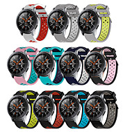 22mm silicone Wrist band For Samsung Galaxy Watch 46mm Gear S3 Frontier Classic watches band breathable Bracelet