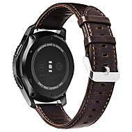 Smartwatch Band for Garmin Vivomove HR Sport / Vivoactive 3 Leather Loop Genuine Leather 20MM Wrist Strap