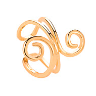 Women's Ear Cuff Classic Flower Classic Vintage Ethnic Earrings Jewelry Gold / Silver For Daily Street Holiday Work 1pc