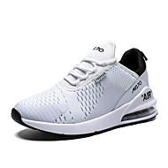 ราคาถูก -สำหรับผู้หญิง รองเท้ากีฬา รองเท้าบู้ทส้นเตารีด ปลายกลม Tissage Volant ไม่เป็นทางการ สำหรับวิ่ง ฤดูร้อน / ตก สีดำและสีขาว / ขาว
