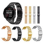 Stainless Steel Strap for Garmin Forerunner 245 245M 645/Vivoactive 3 Music/Vivomove HR Bracelet Smart Watch Wristband