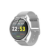 R88 Smart Watch BT Fitness Tracker Support Notify/Heart Rate Monitor Sport Stainless Steel Smartwatch Compatible Iphone/Samsung/Android Phones